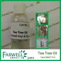 Farwell casher certificat chinesese huile d'arbre à thé