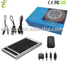 2600mAh 12v solar charger outdoor