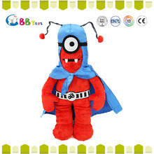 top selling products 2015 red stuffed big eyes alien doll toy