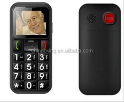 1.77 inch dual sim sos button big keypad best cell phone for elderly