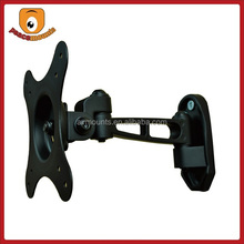 For 10-24 inches display 25 degrees tilt 60 degrees swivel Sturdy steel construction single arm swivel adjustable scope mounts