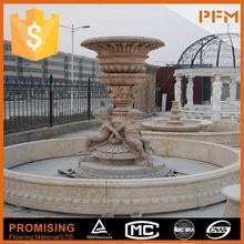 Custom Engineering garden fountain with lions