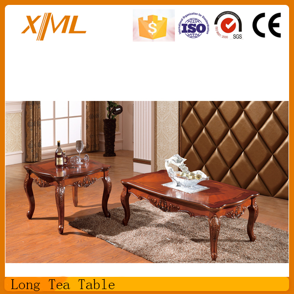 Rectangle wooden center table design view center table for Table design in xml
