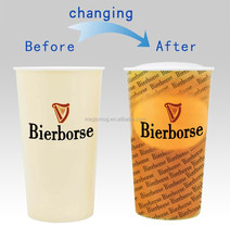 Color Changing Promotional Plastic Cup Beer