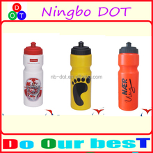 Factory Wholesale 650ml 700ml 750ml Gym Running Hiking Bike Bicycle Cycling Sports Water Bottle Plastic