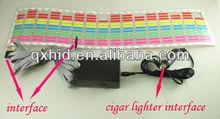 2012 Hot sell music control strobe light LED music rhythm light