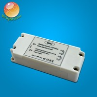 China supplier 20w adjustable current Dali dimming led driver with 0-100% dimming range
