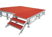4ft*8ft aluminum frame plywood deck portable stage