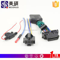 Meishuo 32 pin connector ribbon cable harness(rohs)
