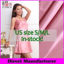 FL01# In-stock! sexy satin nightgown,Sleeveless Nightgowns, sexy nightgowns for women