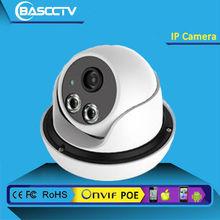 Night vision H.264 3.0Mp LED Array 4mm Lens Onvif IP Dome Camera