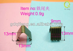wheels for luggage metal fittings zipper clips 9mm