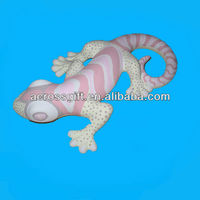 decorative ceramic geckos