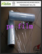 transparent color roll plastic film hand use and machine roll, mini rolls film