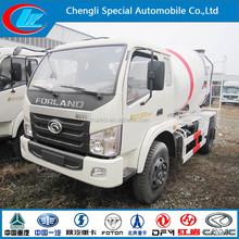 Foton 4*2 small concrete mixer truck diesel concrete mixer for sale