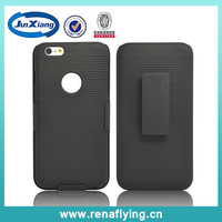 guangzhou mobile phone fancy accessories covers and cases manufacturer belt clip combo holster for iphone 6