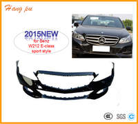 2015 NEW car front bumper cover sport style for Benz E-class W212 A2128802647 autoparts wholesale