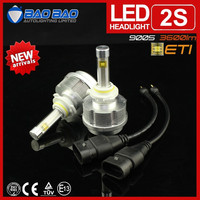 BAOBAO 2015 ETI 3600lm Car led headlight,hot sell in Canada,usa,thailand,sweden,indonesia best led headlight