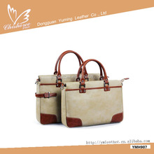 European and American fashion personality designer leather laptop shoulder bag for women
