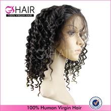 Tangle free natural peruvian human hair 24 inches aliexpress hair full lace wig