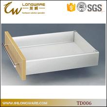 One Bar soft close metal box drawer slide for kitchen cabinet