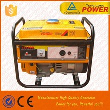 800w portable AC&DC Gasoline Generator TL1000 Tenglong Power