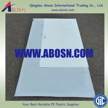 HDPE slippery plastic shooting pad/ practice shooting pad