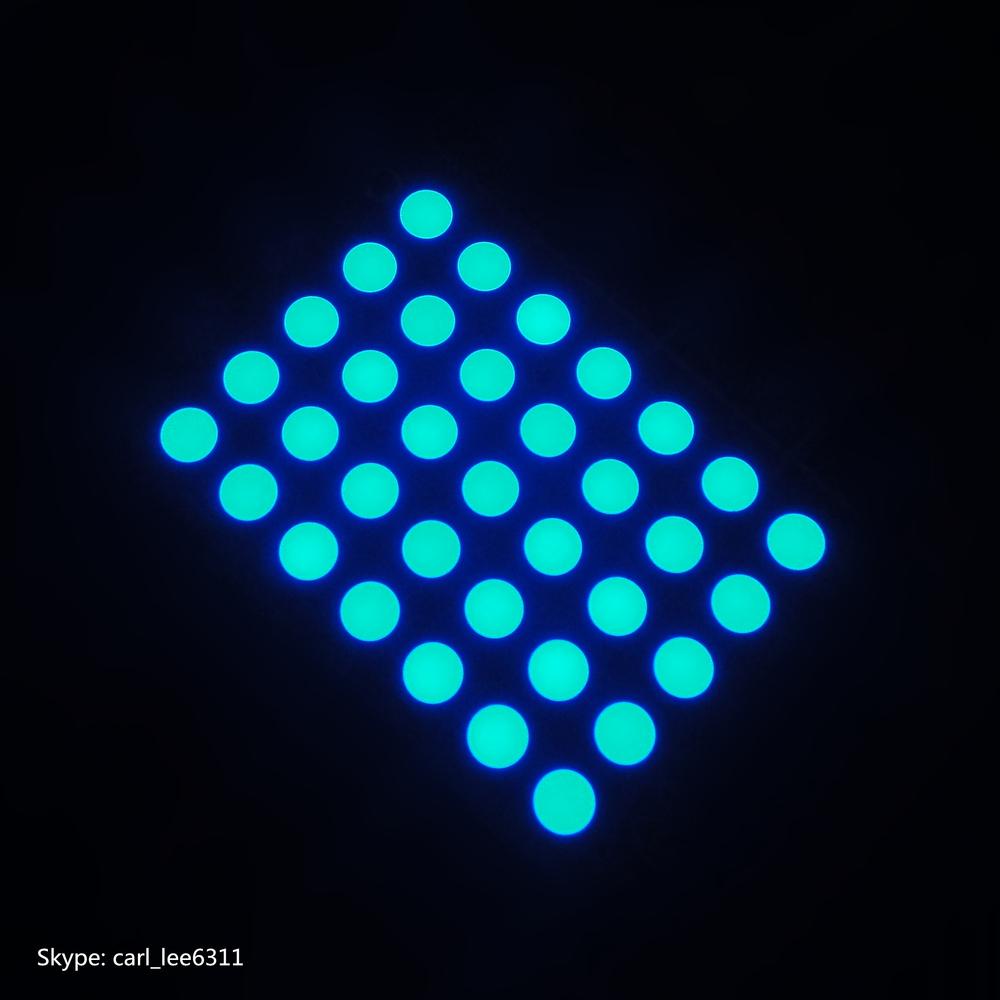blue led 7x5 matrix led dot matrix 7x5 led dot matrix display 7x5