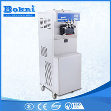 CE approved luxury mobile ice cream machine BKN-B36 with 2+1 mixed flavors