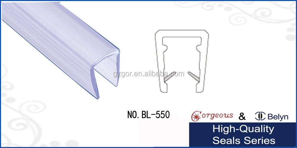 Wholesale U Shape Transparent Water Seal Strip Seal Bar For Shower