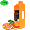 Hot selling New listing fruit syrup 2.1L/ Bottle Concentrated Red grapefruit Juice