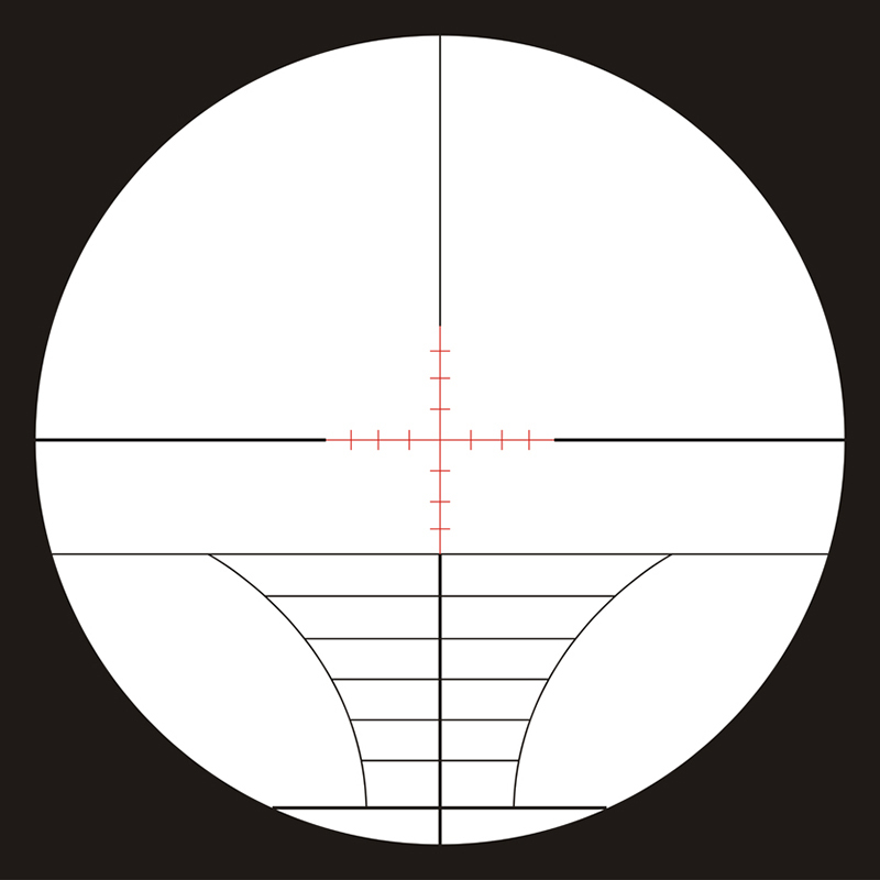 10-40x50mm Mil-dot Red & Green Illuminated Rifle Scope,red and green laser sight,10-40x50HE2SF hunting riflescope