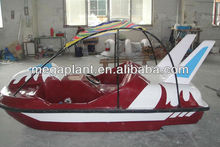 fashion style water sports fiberglass pedal boats for sale