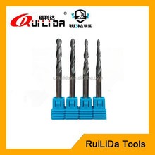 2 flutes carbide taper end mill cutter for wood