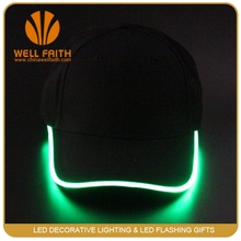 Wholesale Flashing led baseball caps/led hats