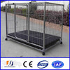 Lowest price Hot-dipped galvanized handmade dog kennel