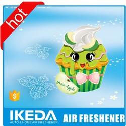 paper cardboard air freshener/car paper perfume