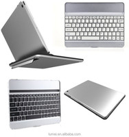 Ultra Slim Bluetooth Wireless Aluminum Keyboard Case Cover For iPad Air