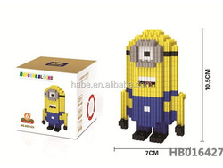 toys wholesale china Building Blocks MiniFigures minions despicable me toys for kids