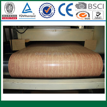 top quality wooden patterned aluminum foil roll for curtain wall