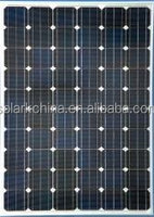 CE and TUV certificated solar panel with high efficiency solar cell