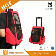 [KIND PET]new waterproof trolley Travel dog back pack pet backpack