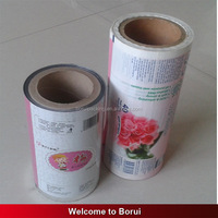 Alibaba china hotsell low price pe plastic film roll,plastic foil wet tissue film roll,0.5mm plastic film