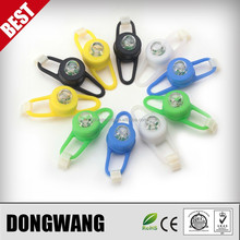 2015 Hot Bicycle Finger Ring Silicone LED Light