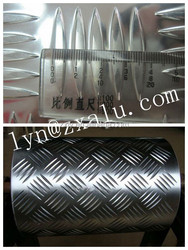 ribbed aluminum panels for automobile floor