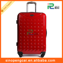 Travel Round Dot ABS+PC Luggage