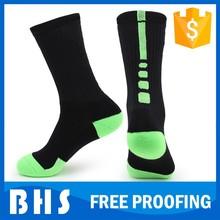 Custom calcetines de baloncesto, logotipo personalizado calcetín