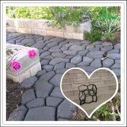 DIY Garden bricks pavement plastomer molds