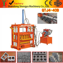 Factory direct sale ! low investment concrete blocks making machine for hollow blocks /road bricks using hydraulic pressure