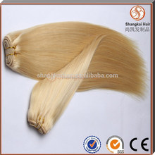 Top Quality Hot Selling 100%Hand Tied Virgin Indian Remy Hair Weft